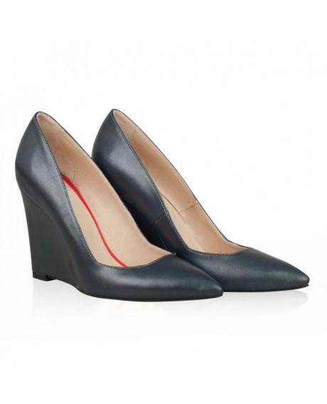 Pantofi cu talpa ortopedica Dark Green Heart N3 -sau Orice Culoare