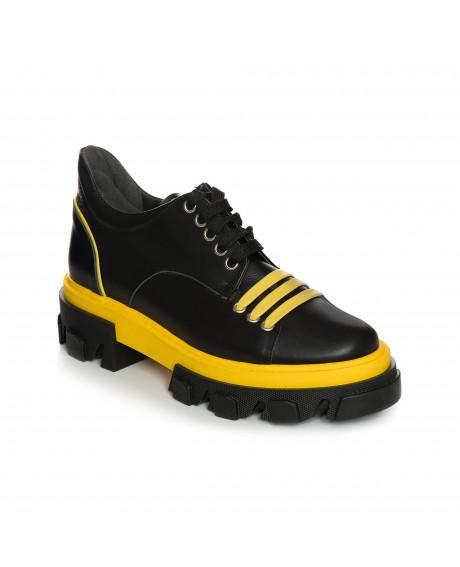 Pantofi piele tip Oxford Luzira V50 - sau Orice Culoare