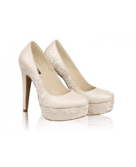 Pantofi mireasa - AF4 Dantela-sau Orice Culoare