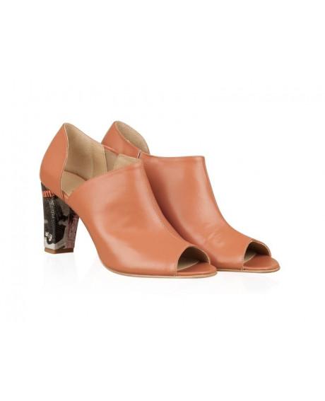 Pantofi din piele naturala Lia N77 - sau Orice Culoare