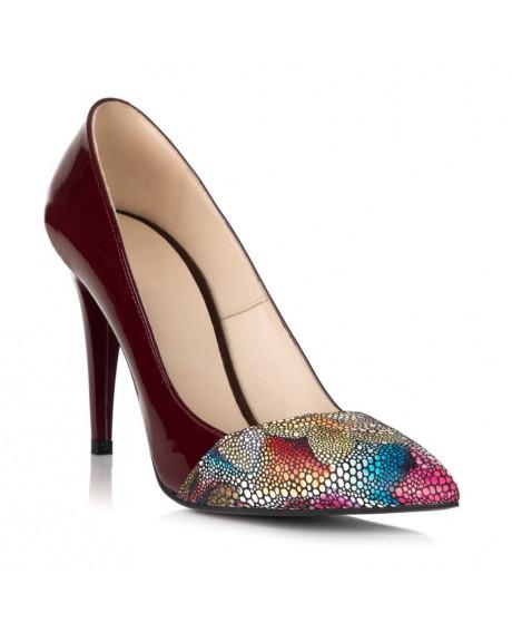 Pantofi Stiletto Elvira din piele naturala S44