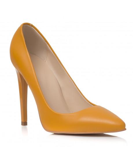 Pantofi galbeni Stiletto Felicity C2 - sau Orice Culoare