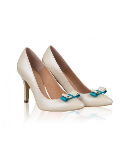 Pantofi mireasa - Stiletto Blue Shine-sau Orice Culoare