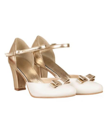 Pantofi mireasa piele Sun N70 - sau Orice Culoare