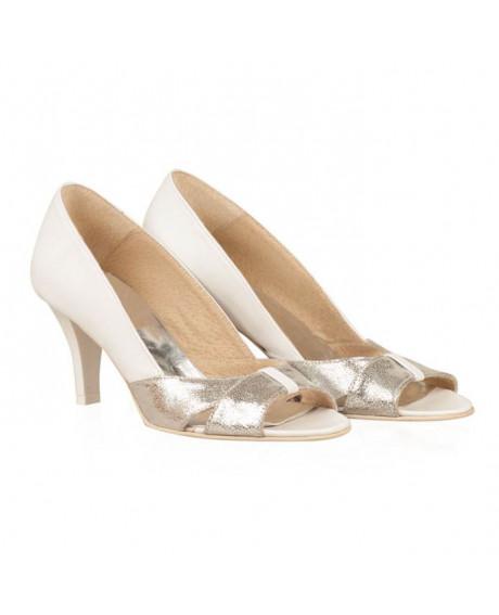 Pantofi mireasa piele Zafira N7 - sau Orice Culoare