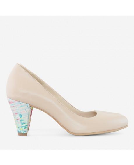 Pantofi dama nude Irina D45