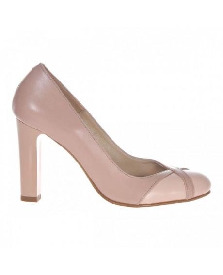 Pantofi nude din piele naturala Cromatic S7 - sau Orice Culoare