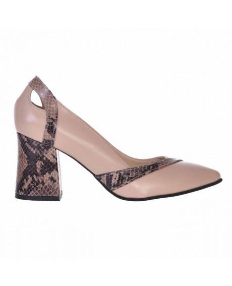 Pantofi Office din piele naturala Dona S500 - sau Orice Culoare