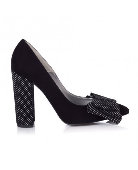 Pantofi dama Silvy cu buline L55