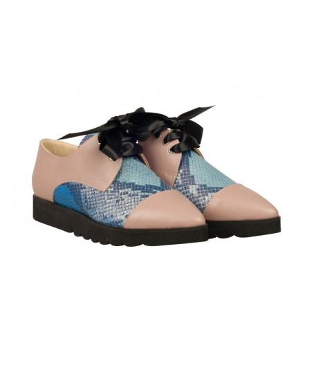 Pantofi Oxford Anabella N7 - sau Orice Culoare