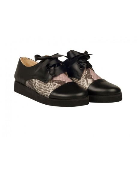 Pantofi Oxford Crista N11 - sau Orice Culoare
