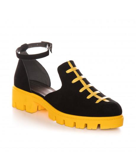 Pantofi Oxford piele naturala Temptation V40 - sau Orice Culoare