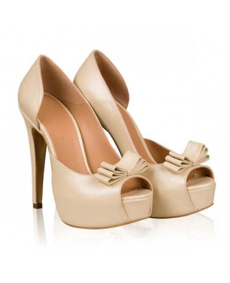 Pantofi piele Anna N80 - sau Orice Culoare