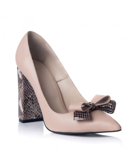Pantofi online Stiletto Chic Print S100