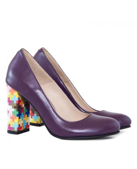 Pantofi piele Dalisa D09 - sau Orice Culoare