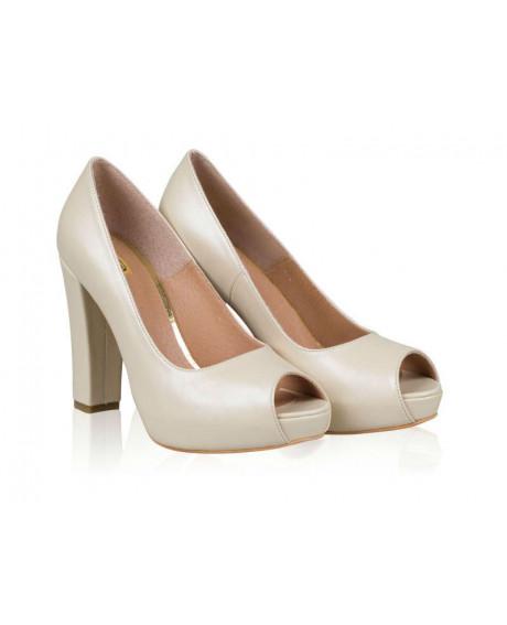Pantofi piele Ellen N505 - sau Orice Culoare