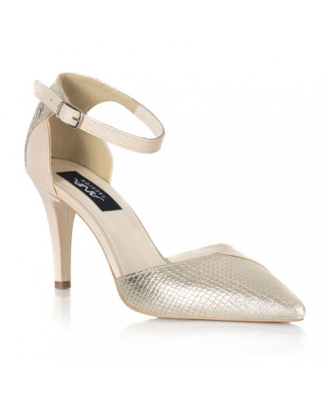 Pantofi aurii Fashion L10