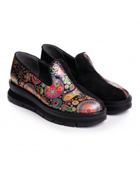 Pantofi piele naturala Adela V77