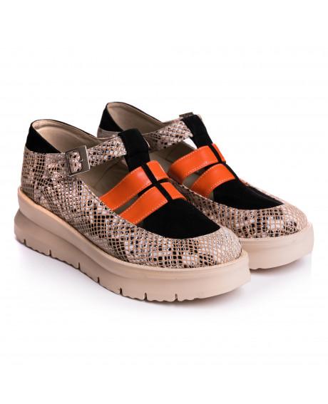 Pantofi piele naturala Gloria V20