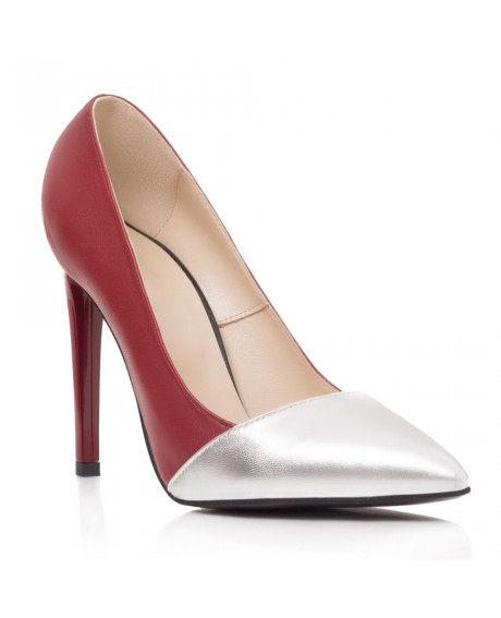 Pantofi piele naturala Loreta S101 - sau Orice Culoare