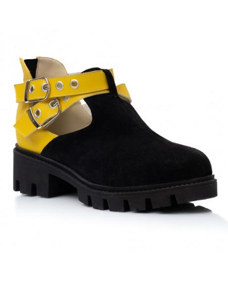 Pantofi piele naturala Valmy V100 - sau Orice Culoare