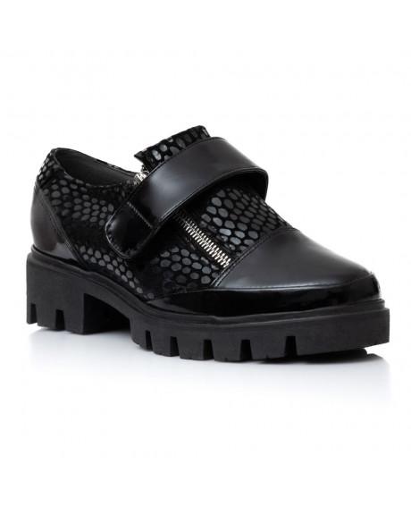 Pantofi piele naturala Siena V76 - sau Orice Culoare