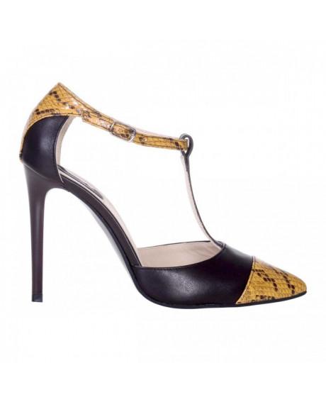 Pantofi piele naturala Zinia S51 - sau Orice Culoare