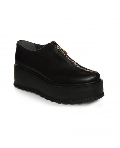 Pantofi piele negri Zafy V40 - sau Orice Culoare