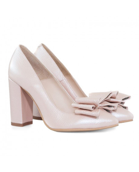 Pantofi Stiletto rose sidef Oriana D10 - sau Orice Culoare