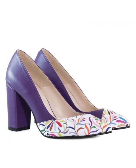 Pantofi piele Olivia D500 - sau Orice Culoare