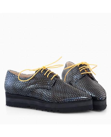 Pantofi piele Oxford Alice D11 - sau Orice Culoare