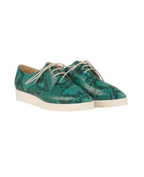 Pantofi piele Oxford Helen N57 - sau Orice Culoare