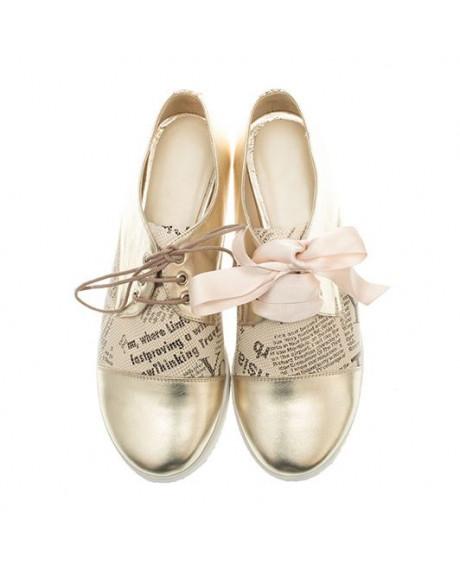 Pantofi piele Oxford Paper N91 - sau Orice Culoare