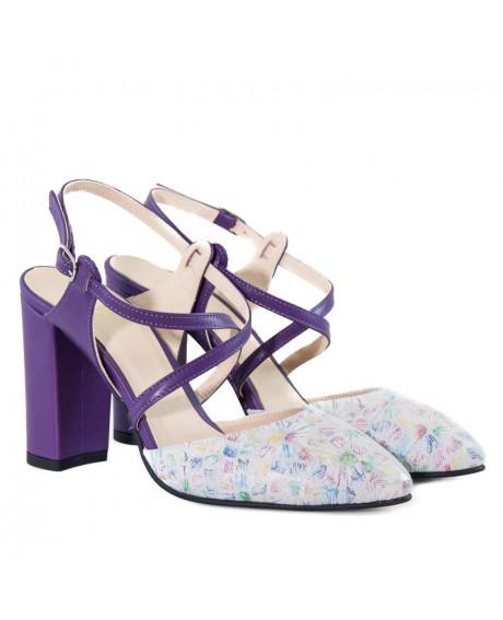 Pantofi piele Regina D505 - sau Orice Culoare