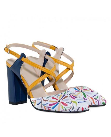 Pantofi piele Regina D600 - sau Orice Culoare