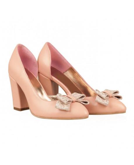 Pantofi nude Carmina N55