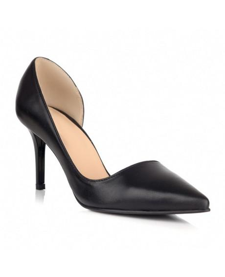 Pantofi piele Sonia negri L25