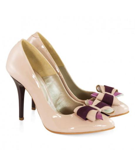 Pantofi din piele Stiletto Marga D99