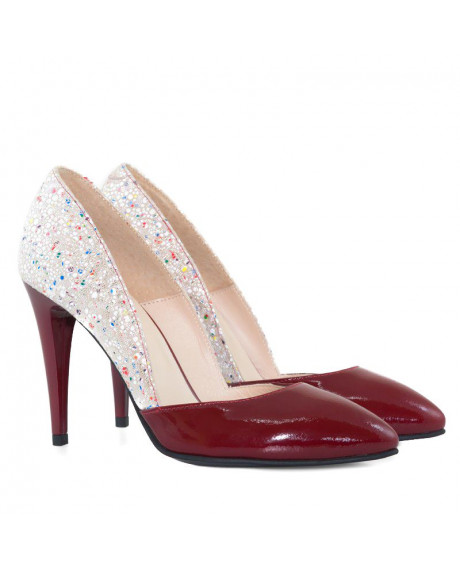 Pantofi piele Stiletto Sofee D07 - sau Orice Culoare