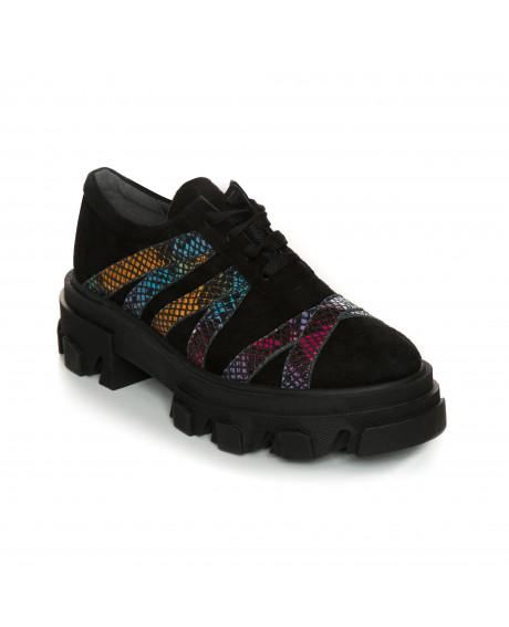 Pantofi piele tip Oxford Luzira Color V66 - sau Orice Culoare
