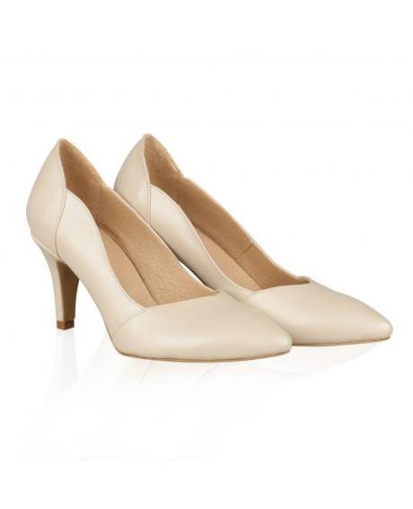Pantofi piele Stiletto Amaretto N90