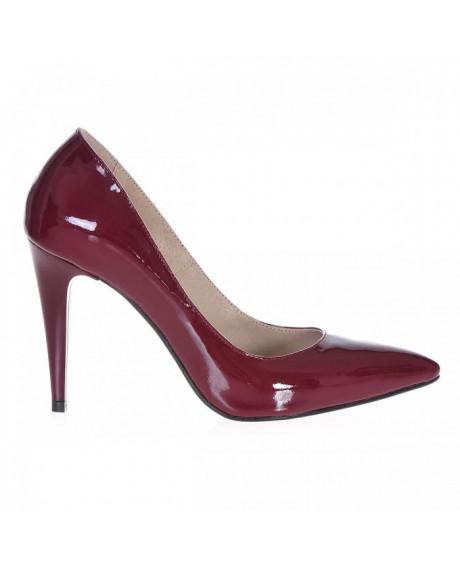 Pantofi Stiletto bordo Classy S89 - sau Orice Culoare