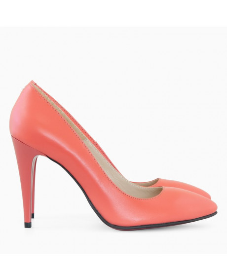 Pantofi dama Stiletto corai Lady D57 - sau Orice Culoare