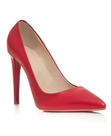 Pantofi rosii Stiletto Felicity C1 - sau Orice Culoare