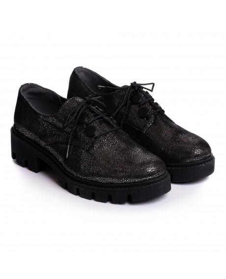 Pantofi piele naturala Helga V71