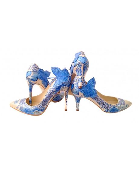 Pantofi pictati manual Butterfly Super Clique C55 - sau Orice Culoare