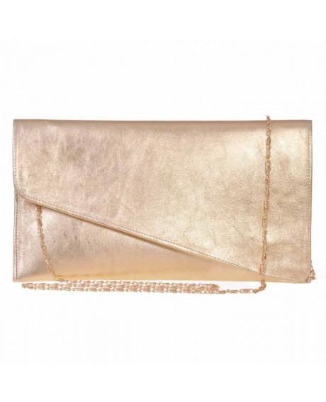 Plic auriu din piele naturala Raisa S3 - sau Orice Culoare