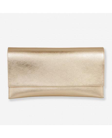 Plic din piele naturala auriu D5 - sau Orice Culoare