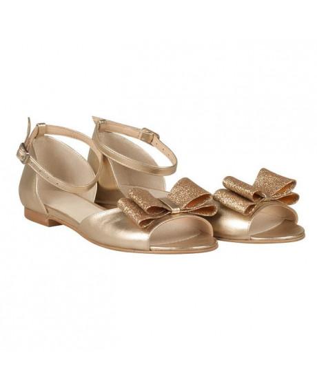 Sandale piele cu talpa joasa Livia N167 - sau orice culoare