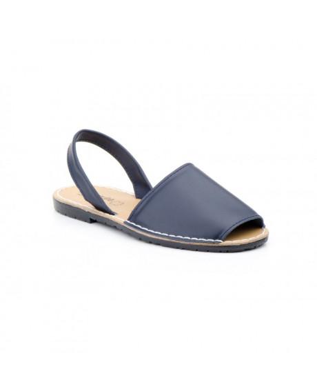 Sandale piele Avarca bleumarin